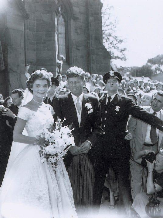 AP JFK WEDDING PHOTOS A MA USA RI