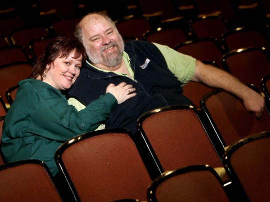 Scot Copeland and his wife, Rene D. Copeland, producing artistic director of Nashville Repertory Theatre, enjoy being part of the audience at the Nashville Children's Theatre in 2006.