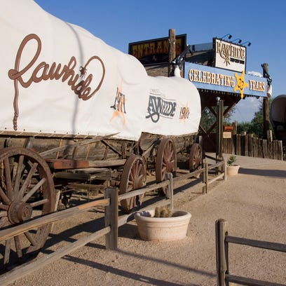 Rawhide Western Town in north Scottsdale in 2005.