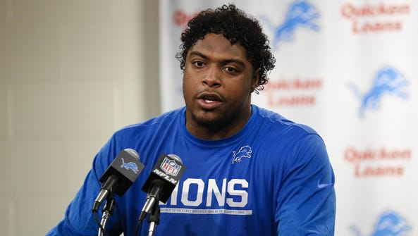 """Lions defensive end Kerry Hyder won the """"Good Guy"""""""