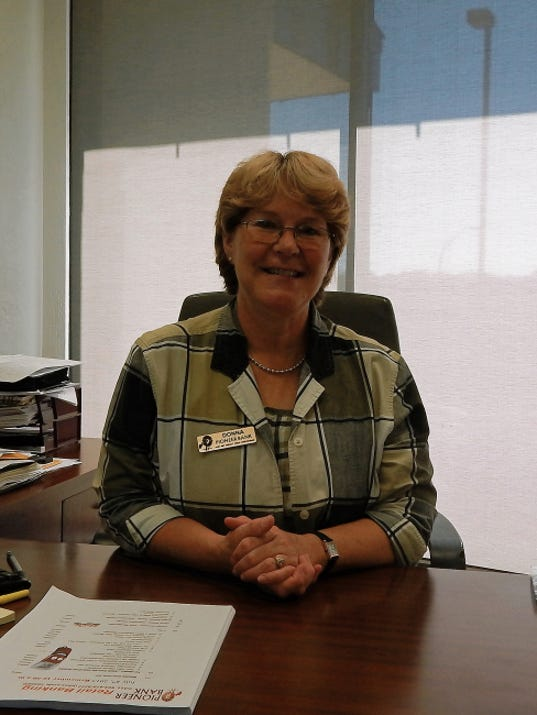 Donna R. Kaler-Ward from Pioneer Bank.