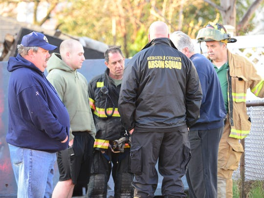 Garfield Fire Department responded twice to the same house for a fire six hours apart on Grace Ave in Garfield on Tuesday April 24, 2018. The first fire began at 10:44 PM on Monday night and the second was reported at 5:16 AM on Tuesday morning. Bergen County Arson Squad was at the scene Tuesday morning investigating the suspicious fire.