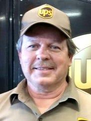 UPS driver Don Bierd.