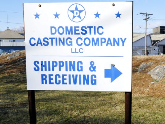 Domestic Casting Company, LLC, Shippesnburg, closed at the end of May. (PUBLIC OPINION -- FILE)