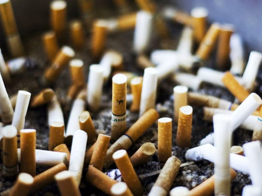 Smoking will be banned at HACC campuses in August.