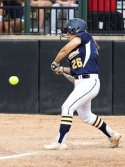 Delaney Robeson is one of three freshmen who started