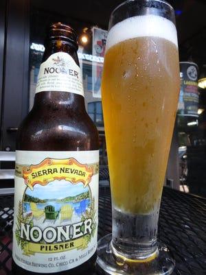 Sierra Nevada's Nooner Pils.