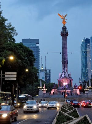 Traffic in Mexico City. Phoenix Mayor Greg Stanton says his city faces large opportunities developing trade with Mexico.