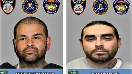 A cash reward may be available for information leading to the arrest of these two fugitives.
