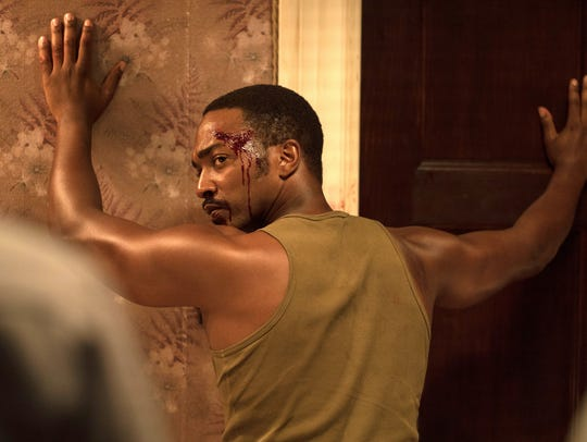 """Anthony Mackie in a scene from the movie """"Detroit,"""""""