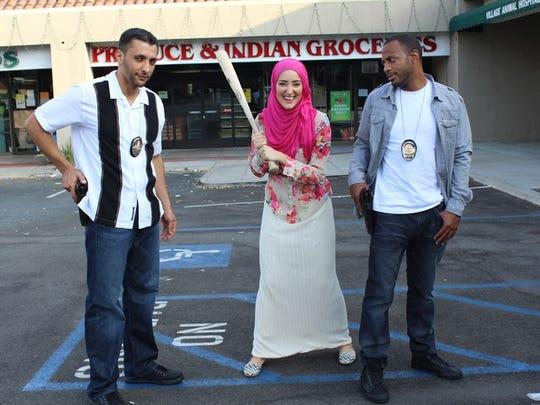 Nadine Abu-Jubara worked with Baba Ali, left, Yasemin