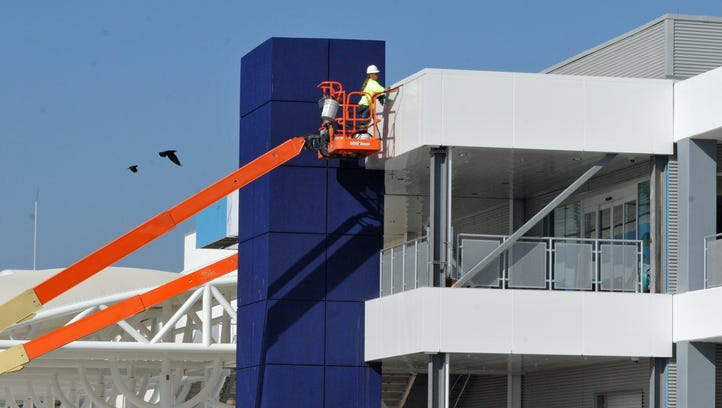 The expansion and remodeling at Port Canaveral Cruise Terminal 10 was one of the port's biggest projects of 2016.