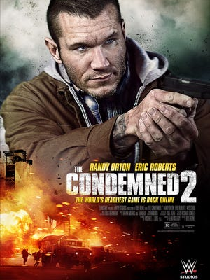 """Randy Orton stars in the action thriller """"The Condemned 2."""""""