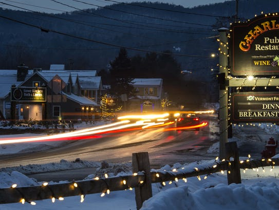 The Mountain Road in Stowe last Friday.