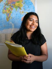 Diana Cruz, a 22-year-old Poughkeepsie resident and graduate student at SUNY Albany, has temporary residency through the Deferred Action for Childhood Arrivals program, or DACA. The program is now being phased out by the Trump.