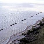 Louisiana coastal line