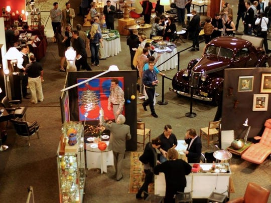 The Michigan Modernism Art & Antiques Show opens with a preview event Friday at the Southfield Pavilion.