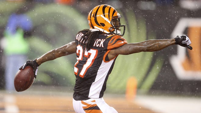 Former first-round pick Dre Kirkpatrick is entering his fourth year and is just now looking to crack the Bengals' starting lineup.