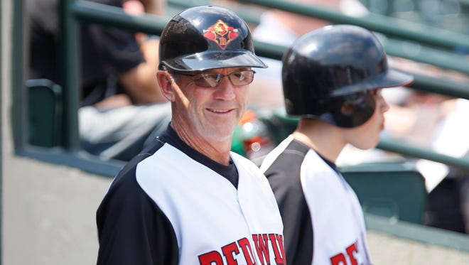 File photo of the now former Red Wings manager, Gene Glynn.