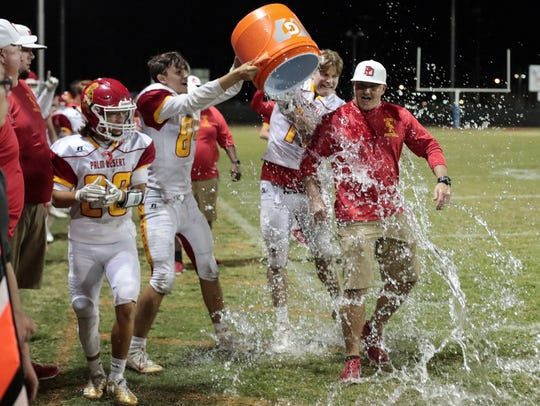 Palm Desert is DVL champs and Aztec head coach Shane