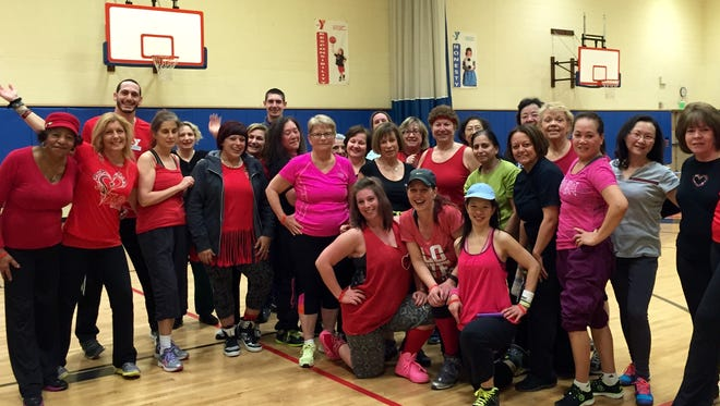 Go Red 2016 at the Old Bridge YMCA