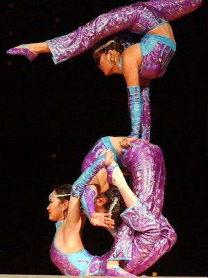 The Garden Bros Circus comes to the El Paso County Coliseum for two shows on Tuesday.