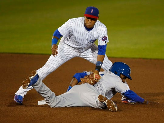 Addison Russell, who played with the Iowa Cubs in 2015, could have a stint back in the minors before he returns to the big leagues.