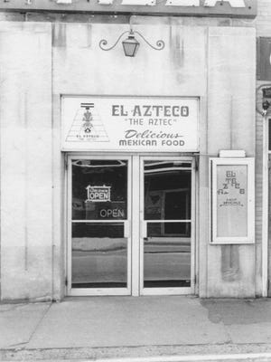 El Azteco was located at 203 M.A.C. Ave., East Lansing, when it opened in 1976.