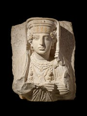 Funerary relief of a woman (Palmyra, Syria), 200Ð273