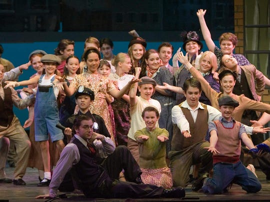 "The Summer Youth Musical Theatre Workshop cast produced ""Wonderful Town"" in 2009 at Binghamton University."
