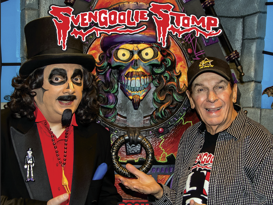 "Freddy ""Boom Boom"" Cannon wrote the Svengoolie Stomp for last year."