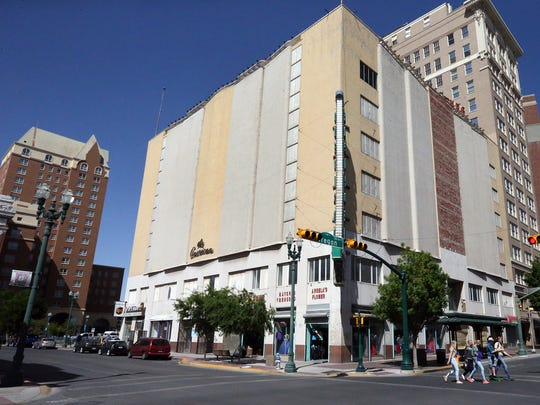 """The former American Furniture building, at San Antonio Avenue and Oregon Street in Downtown El Paso, is proposed to become a hotel, according to court testimony by William """"Billy"""" Abraham, who owns the mostly vacant building through one of his property companies."""