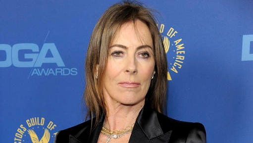 """FILE - In this Feb. 2, 2013 file photo, Kathryn Bigelow arrives at the 65th Annual Directors Guild of America Awards in Los Angeles. The Tribeca Film Festival announced Thursday, Nov. 17, 2016 that Bigelow's virtual-reality film, """"The Protectors: Walk in the Ranger's Shoes,"""" will be a part of its annual April festival."""