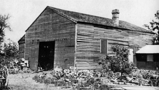 The Quaker Meeting House, at Calkins and East Henrietta roads, is seen in this undated photo.