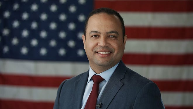 Pedro Rodriguez works as a telecommunications analyst in for the Paterson police department. He finished third in the recent race for mayor.
