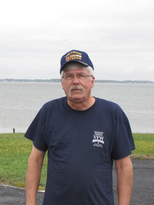 Fulton Loppatto is commander of VFW Post 7234 in Ocean View.