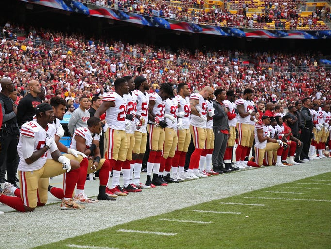 Nfl Players Protests