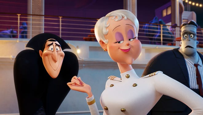 """""""Hotel Transylvania 3: Summer Vacation"""" will be in theaters July 13."""