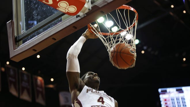 Dwayne Bacon and the Seminoles will play nine non-conference home games at the Donald L. Tucker Center.