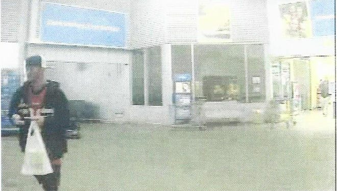 Auto burglary suspect