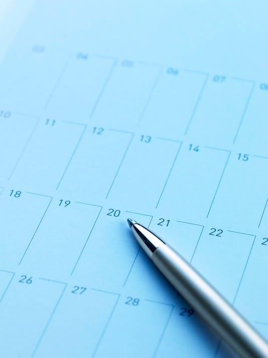 ELM calendar illustration file photo
