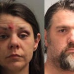 Pineville couple arrested after woman yells for help