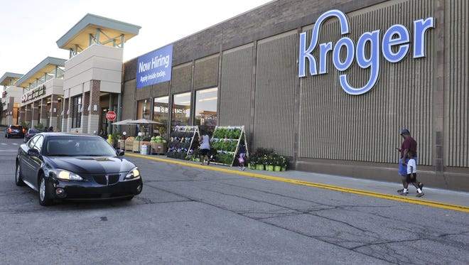 The newly-opened Kroger store in West Bloomfield, Michigan on July 22, 2015.