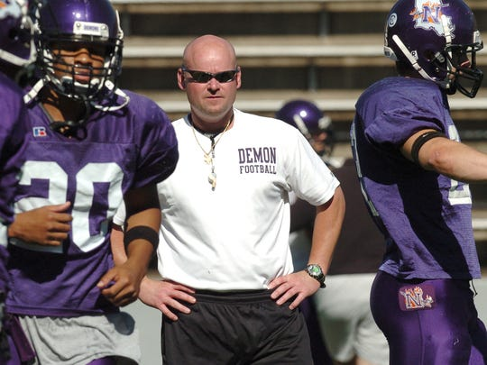 Former NSU coach Scott Stoker followed his father's footsteps as a coach. Scott is currently an assistant at ULM.