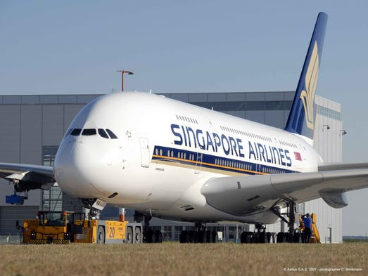 Singapore Airlines was the world's first airline to fly the Airbus A380, operating its first passenger flight on the aircraft in 2007.