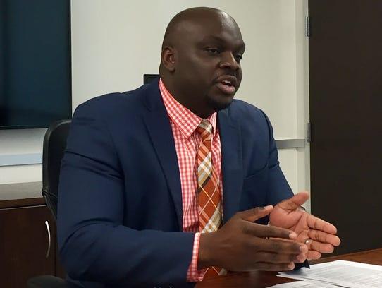 Leonard Brock, director of RMAPI, met with the Editorial