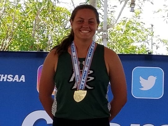 Elizabeth Sculles, Palmetto Ridge track and field