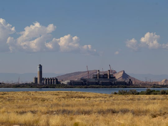 The Four Corners Power Plant is pictured, Tuesday,