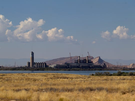 The Four Corners Power Plant is pictured, Tuesday, Sept. 12, 2017 in Waterflow.