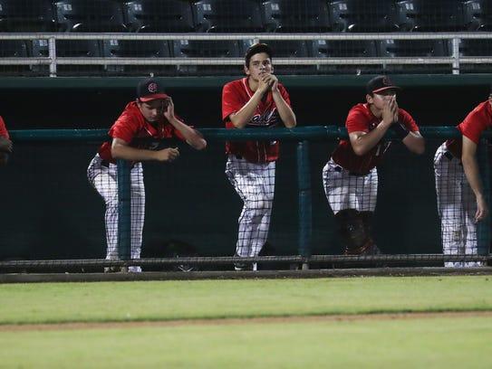 Members of the North Florida Christian Baseball team